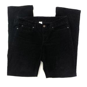 J. Crew Black Favorite Fit Corduroy Jeans sz 32R